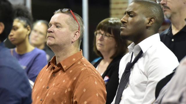 Daughter of Charleston church shooting victim speaks at SU