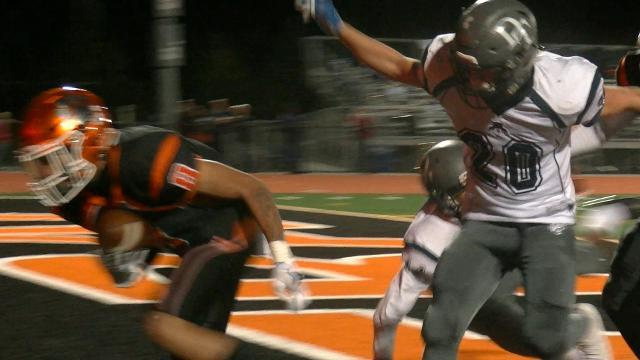 Watch the best high school football plays from around the YAIAA in Week 9 of the regular season.