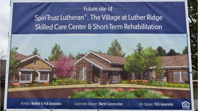 Ceremony anticipates Skilled Care Center at SpiriTrust Lutheran