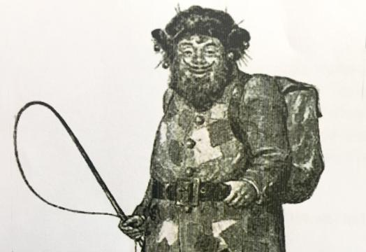 A historical figure whose roots are connected to St. Nicholas, the Belsnickel is a character Rick Brouse has been portraying for over two decades.