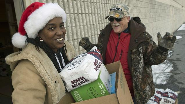 Angels deliver during Salvation Army event