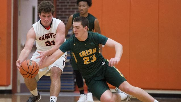 Watch: Action from York Catholic's win over Hanover, 76-51