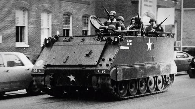 Fifty years ago, racial tension, poverty and police hostility caused unrest in the city of York.