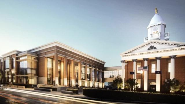 Here's what the proposed new courthouse could look like