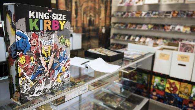 Making a childhood dream come true, a new comic book store arrives in Hanover