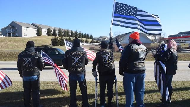 US Marshal Christopher Hill: Motorcycle clubs honor fallen hero