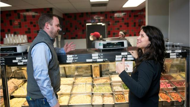 """""""We're pulling for downtown"""": More than six decades since first opening as Kennie's Market on Scotland Avenue, The Butcher Shoppe continues to expand its business."""
