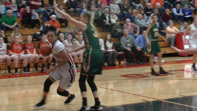 Defending YAIAA tournament champion Central York upended York Catholic in the opening-round of the 2017-18 tourney Saturday, Feb. 10, 2018.
