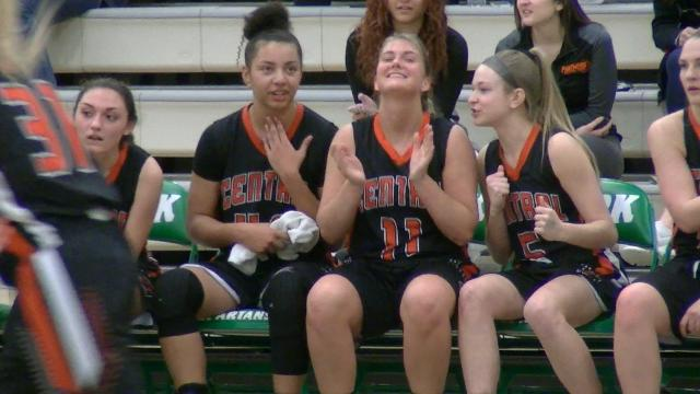 Central York jumped out to an early lead and defeated Dallastown, 40-19, in the YAIAA girls' basketball championship game Friday, Feb. 16, 2018.