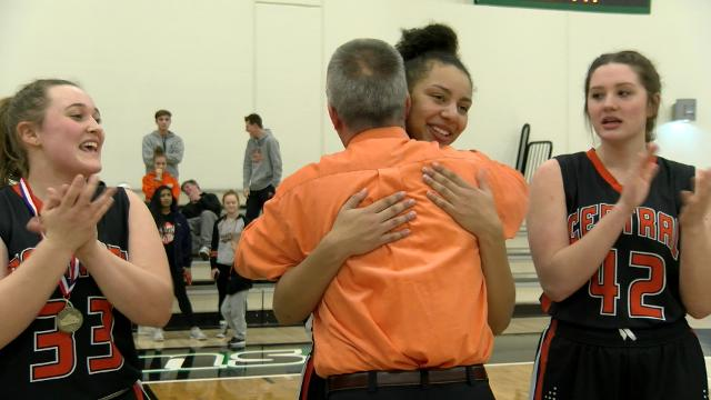 She spent two weeks recovering from an injury, but the Central York senior was ready to return to the YAIAA title game and is ready to play for IUP.