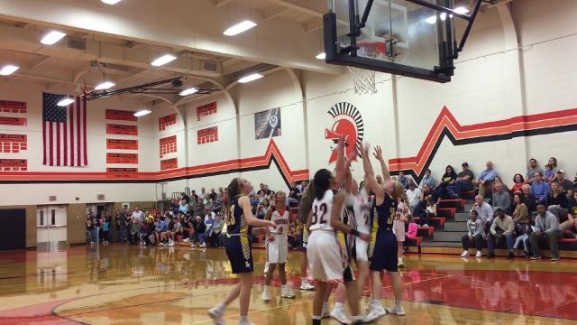 York Suburban advanced past Eastern York in the District 3 Class 4A playoffs when a last second shot by the Knights fell short. York Suburban got 19 points from Ali Reinecker.