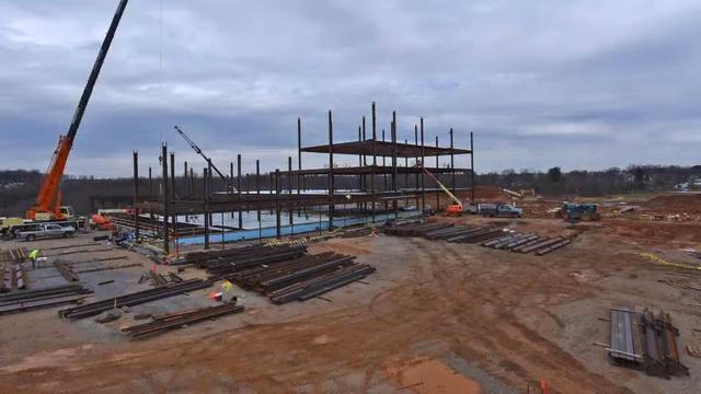 Timelapse: Construction of the new Memorial Hospital