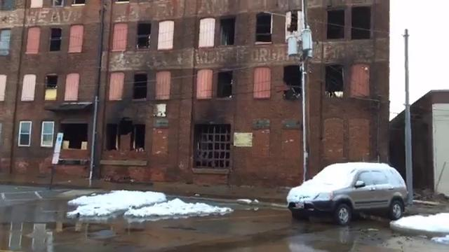 Investigators are probing what caused a fire that ravaged the old Weaver Organ and Piano building in the 100 block of North Broad Street, York.