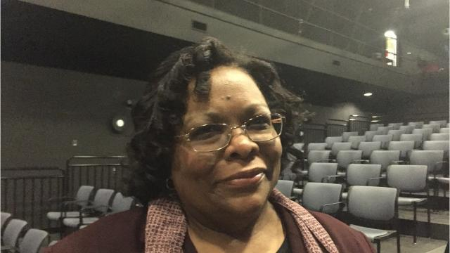 """Lynda Myers, daughter of Daisy and William Myers, shared the story of her family and their move to Levittown, Pa. in the 1950s. The black family faced hatred in the all-white community. The Myers family later settled in York County. The York County History Center. hosted the event, """"In the North Too: The Myers Family of York's Integration Story,"""" at the DreamWrights Center for the Community Arts. After the event, Myers said, """"We need to be more tolerant and understanding of all people, no matter age, race, religion, whatever the beliefs may be, because we all need to live in this world together, and the more tolerate we are, the better place we would be."""""""