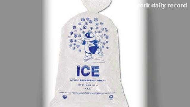 Contaminants in bagged ice