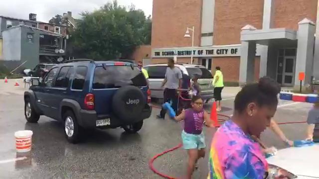 VIDEO: Camp Safe Kids car wash