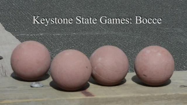 VIDEO: Keystone State Games Bocce