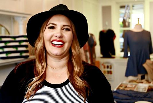 VIDEO: Rebecca Wattenschaidt wins Redbook fashion award