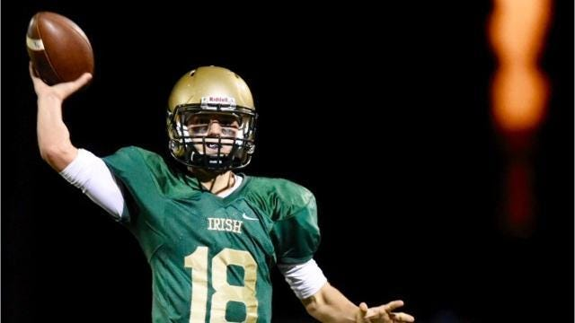 VIDEO: York Catholic defeats York Suburban, 30-14