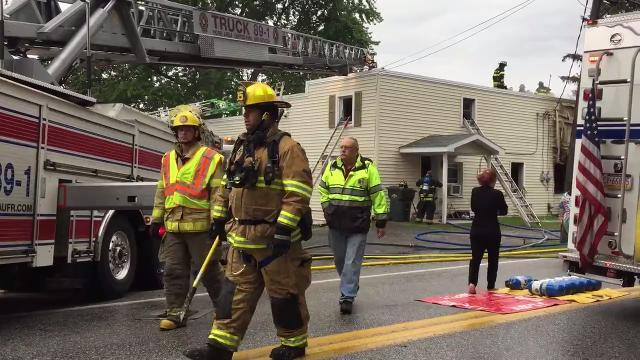 VIDEO: Freysville Road apartment fire