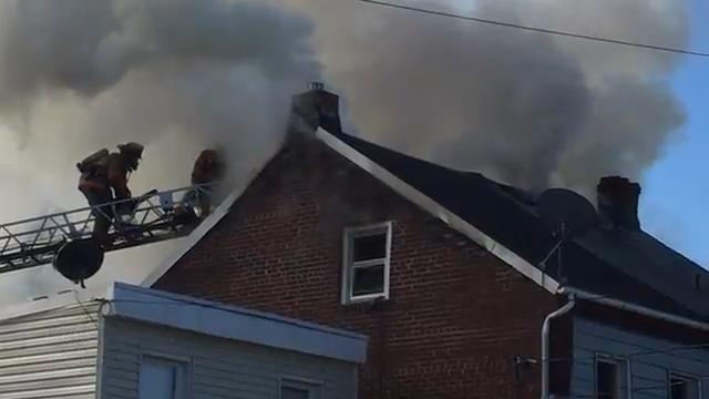 VIDEO: East Boundary Ave fire