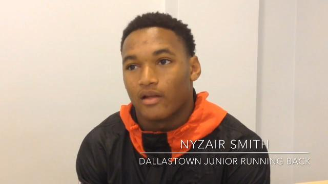 VIDEO: Nyzair Smith Dallastown Running Back