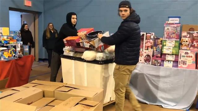 VIDEO: Toy donations welcomed