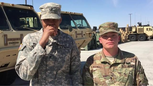 West Point cadets visit Fort Bliss