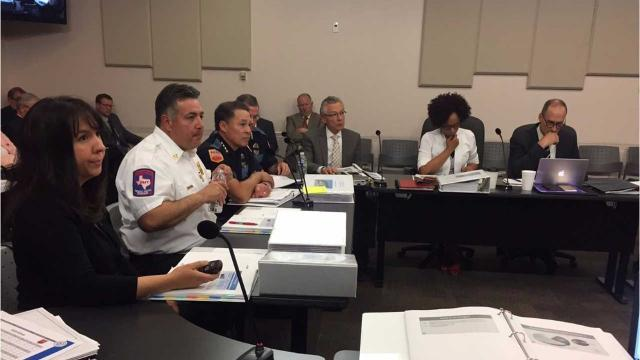 El Paso City Manager Tommy Gonzalez presents proposed budget