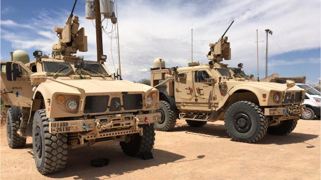 Fort Campbell soldiers arrive at Fort Bliss for NIE