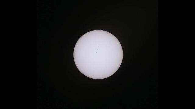 Time lapse: Solar eclipse in El Paso
