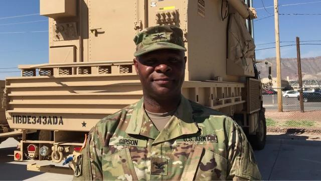 Col. Ike Gipson talks about upcoming deployment