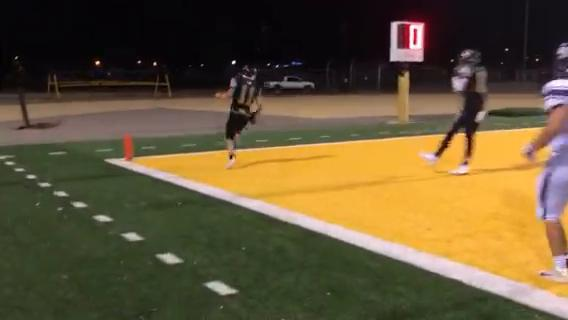 Alamogordo junior quarterback Tom Turnbull broke a 29-yard touchdown run Friday night at Tiger Stadium.