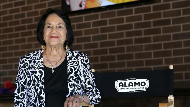 Dolores Huerta at the Alamo Drafthouse