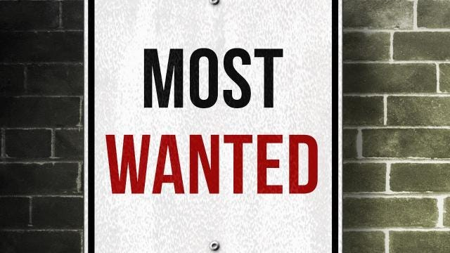 Watch: El Paso's most wanted fugitives of the week