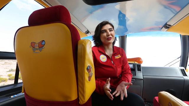 Meet El Paso Hotdogger and Wienermobile Pilot Jackie Corte