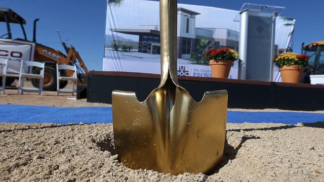 The Hospitals of Providence broke ground in November 2017 on its Northeast El Paso microhospital at McCombs Drive and Patriot Freeway.