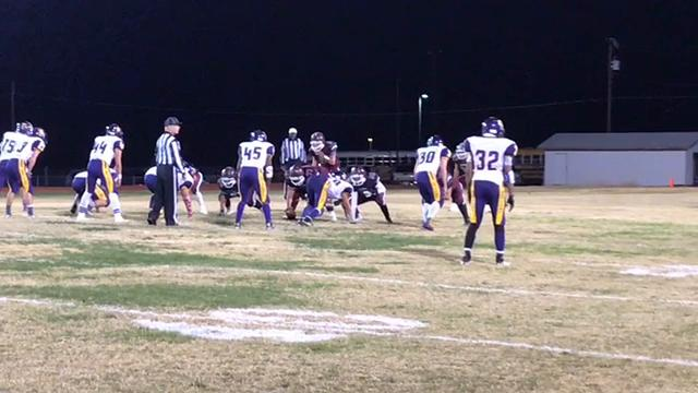 Tularosa eliminated Tucumcari, 43-8, in the first-round of the Class 3A state playoffs Friday night at Bob Cerny Stadium.
