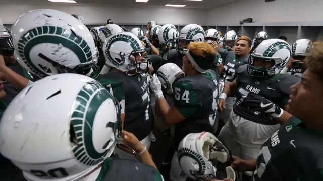 Meet the man who motivates the Montwood High School football team.