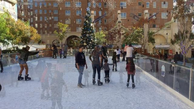 El Paso Winterfest kicks off with an ice rink and more in Downtown.