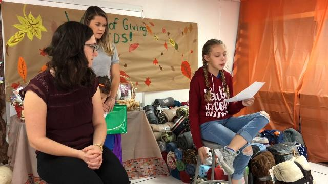 """Over 60 students at El Paso Country Day School collected toys, blankets and wrote letters to soldiers stationed overseas as part of the schools, """"Week of Giving Celebration."""" Three area organizations benefitted from the students charity."""
