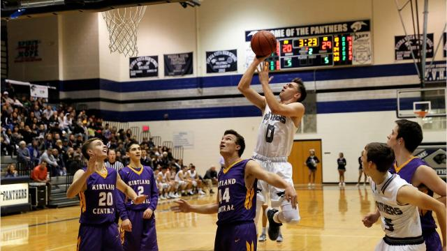 Panthers' Christian Chavez drains game-winning 3-pointer in Thursday's shootout.