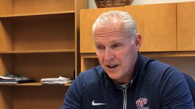 Dana Dimel outlines why he thinks UTEP is a good fit for him and why he believes he can turn it around.