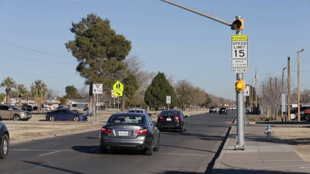 EPISD Police Patrols School Zones