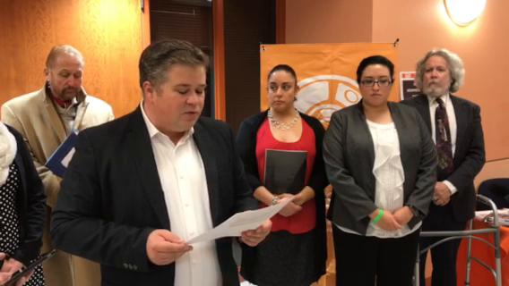 Borderland Immigration Council holds press conference