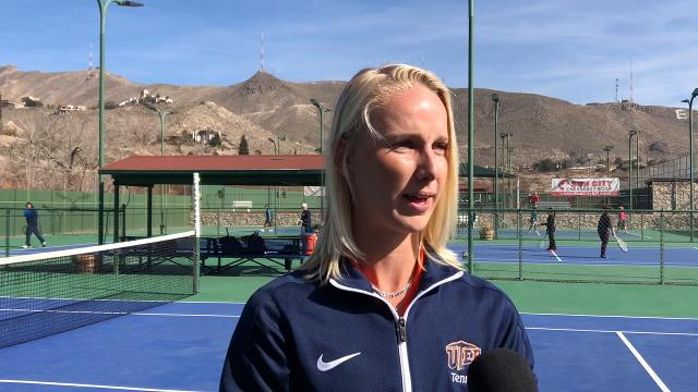 UTEP Senior Lois Wagenvoort Ready For Her Final Season of Tennis