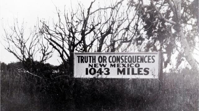 How Truth Or Consequences got its name