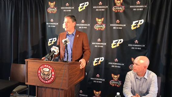 Chihuahuas, San Diego Padres announce contract extension Tuesday at Southwest University Park