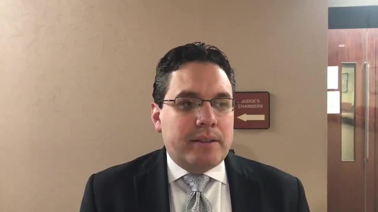 Video: Raymond Roberts II's lawyer Omar Carmona discusses the directed verdict issued by judge which dismiss charge against his client.