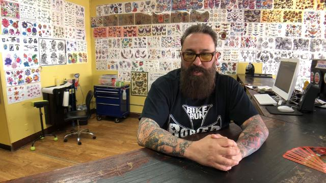 El Pasoan George Galindo, CEO & Promoter of the 8th Annual Texas Tattoo Showdown Festival will bring in over 300 tattooist for the three day festival at the El Paso County Coliseum over the St. Patrick's weekend.